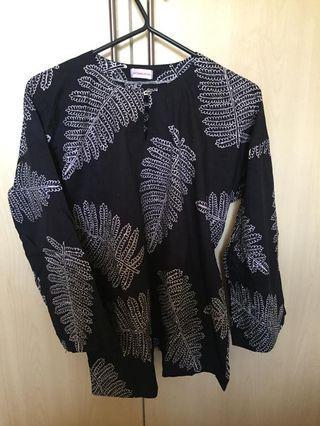 Nysakapas cotton batik top