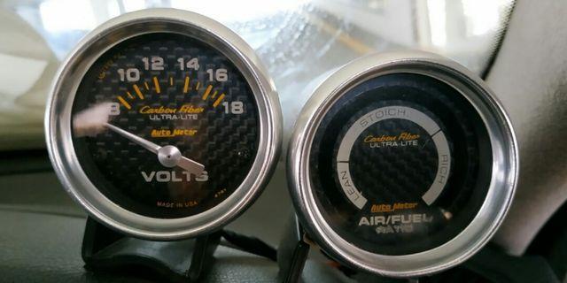 Genuine AUTO METER Carbon Fiber ULTRA-LITE series (Universal)