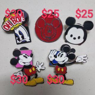 迪士尼襟章 米奇 $120@5