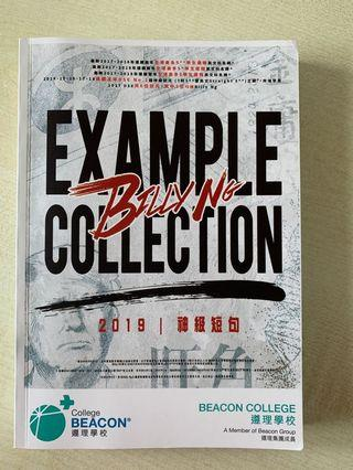 Billy Ng Example Collection Paper2&4 神級短句