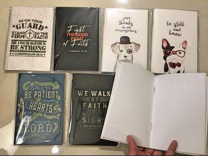 🚚 Christian mini notebook