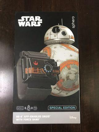 Special edition STARWARS BB-8 app enabled Droid with force band by sphero