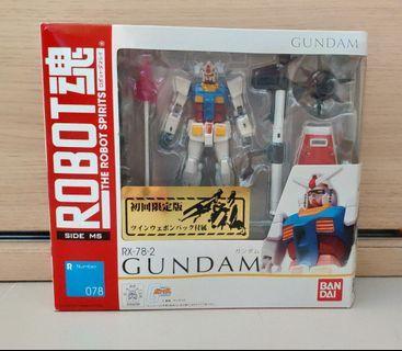 特價 日版 Robot魂 078 高達 元祖 Rx-78-2 Gundam