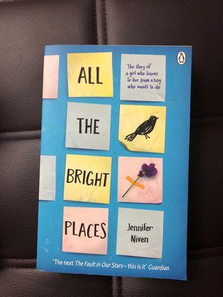 🚚 All the bright places - Jennifer Niven