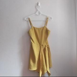 Mustard Yellow Romper
