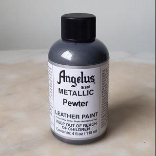 ANGELUS Acrylic Leather Paint METALLIC - Pewter