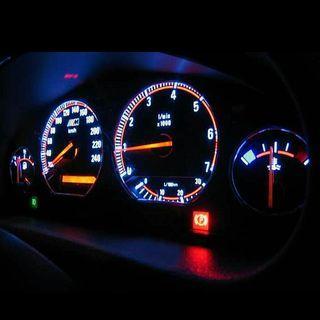 BMW E36 RARE Plasma Backlid face meter