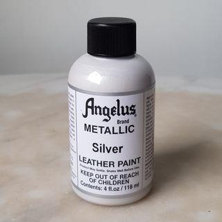 ANGELUS Acrylic Leather Paint METALLIC - Silver