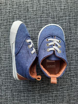 🚚 Carter's baby sneakers (blue)
