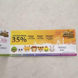 JUNGLE LAND VOUCHER
