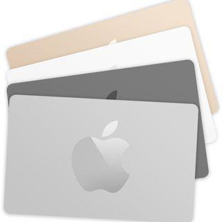 Apple Store 禮品卡 電子 / 實體