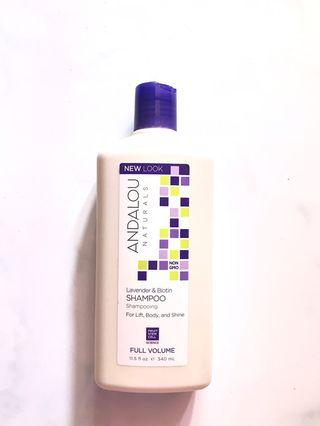 Lavender & Biotin Shampoo