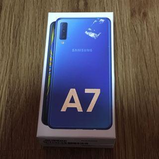 Samsung A7 (2018) 128Gb blue