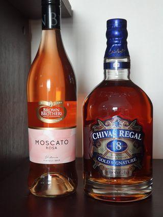 Chivas Regal and Moscato