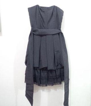New Look Black Dress with ribbon and lace PRELOVED like NEW