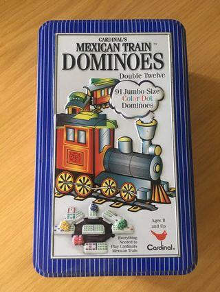 New Mexican train dominoes set