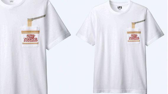 🚚 Uniqlo Nissin Cup Noodles UT Shirt