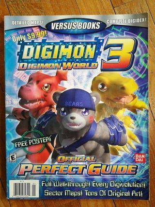 🚚 Digimon World 3 Guidebook