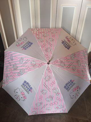 Hello kitty小童 雨傘