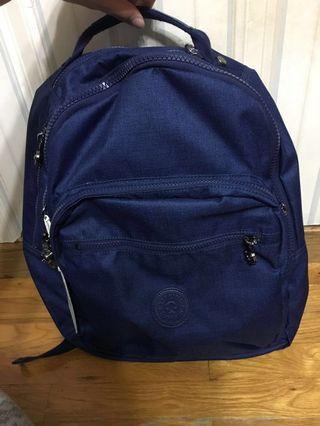 <全新>Kipling深藍色背包