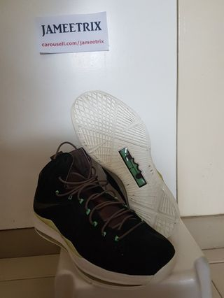 63790d1c7b9 Nike Lebron 10 EXT Black Mints
