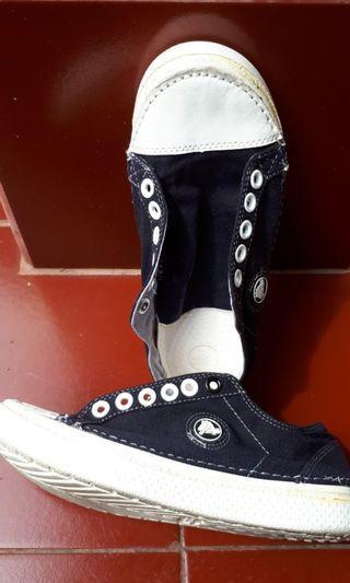 #BAPU# 🚫SALE🚫 Sepatu crocks ukuran 36 [blue navy]