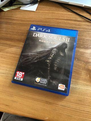 PS4 Dark souls 2 原罪哲人 二手