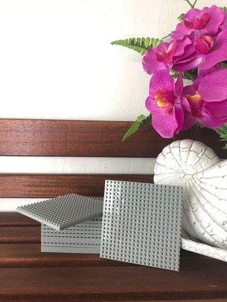 🚚 Nanoblocks Grey Base Plate