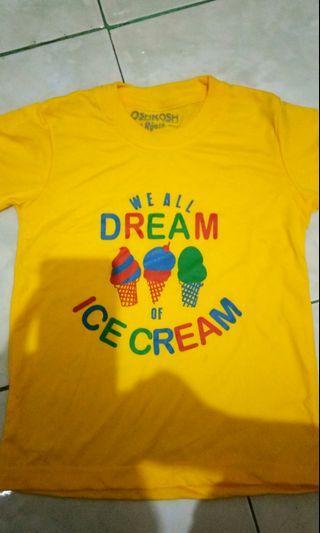 Kaos Kuning. Anak laki2 pakaian baju anak