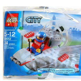全新 LEGO 30012 Microlight City