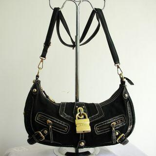 Tas Guess Original Denim Hitam
