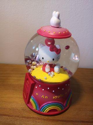 Hello Kitty 音樂盒水晶球
