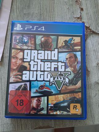 GTA V PS4 with EXCLUSIVE ONLINE CODE