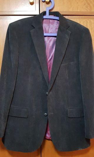 C&A Europe black velvet jacket