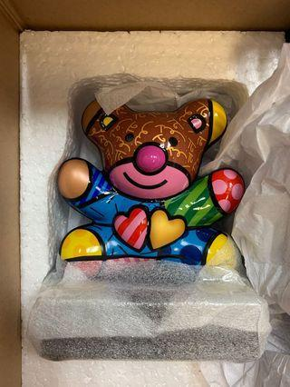 britto figurine Goebel 瓷像連木座