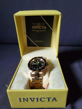 Invicta Pro Diver Gold plated Automatic 8929OB