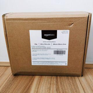 Amazon Basics Microfibre King Duvet Cover Set-Dark Grey BNIB