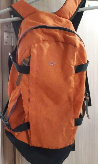 85% New Nike Orange Backpack