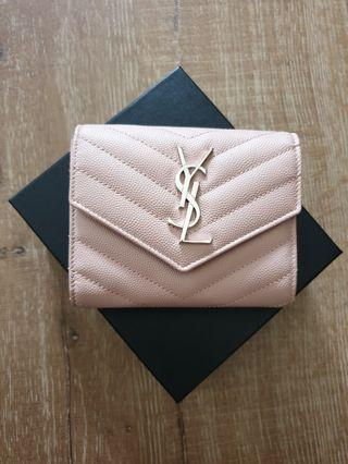 🚚 Saint Laurent Wallet YSL Wallet Tri Fold Wallet