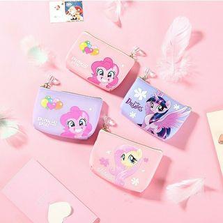 [Ready Stock] 🌈 Cute Cartoon My little Pony Coin Purse Kids Bag Beg