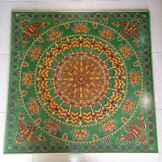 Batik with Glass Frame