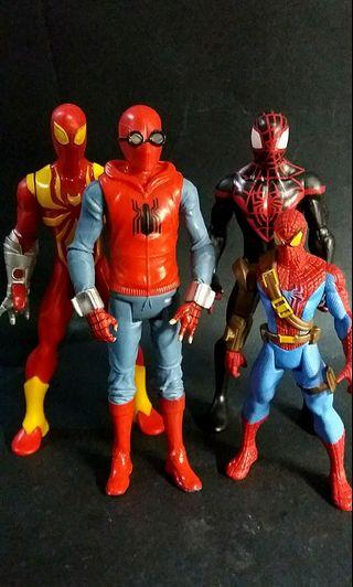 Marvel's Spiderman set of 4