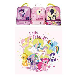 [ Ready Stock ]🌈 My little Pony Lunch Bag Cute Cartoon Thermos Bag Lunch Kit