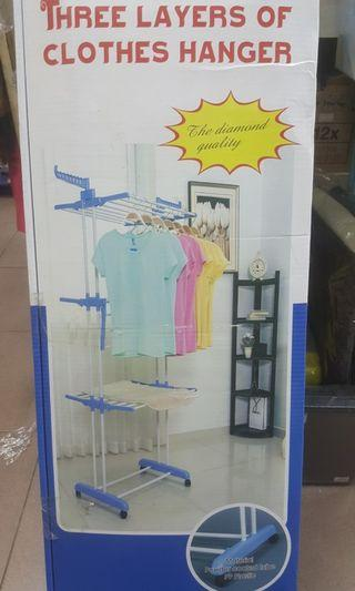 3 Layers Clothes Rack