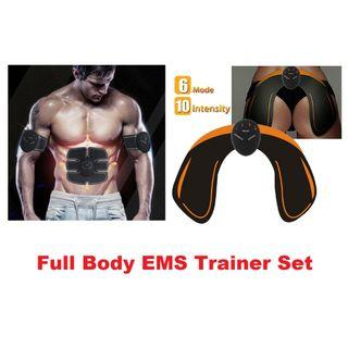 Full Body EMS Trainer Set ( Abs + Arm + Thigh + Hips )