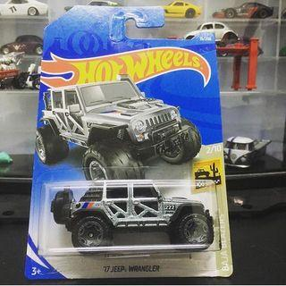 Hotwheels 17' Jeep Wrangler