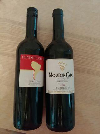 Red Wine 紅酒 Mouton Cadet Flinders