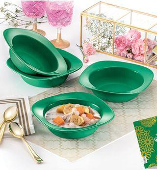 Tupperware Emerald Bowls 350ml 4biji- New release