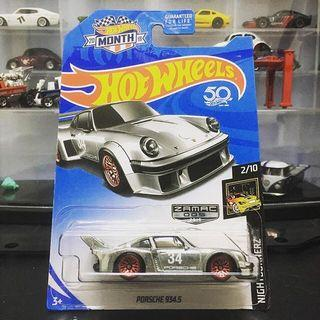 Hotwheels Porsche 934.5 ZAMAC