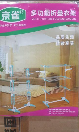 3 Layers Foldable Clothes Rack